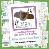 Lent through the Psalms - Kidmin lessons and Bible crafts
