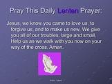 Lenten Activities