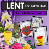 Lent For Kids  - Let's Make a Book