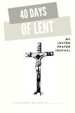 Lenten Prayer Journal Part 1