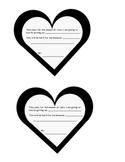 Lenten Promise Heart