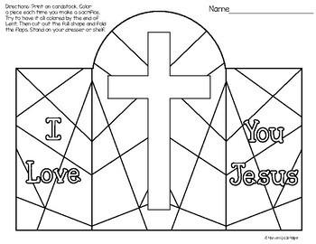 Free Lenten Sacrifice Craft