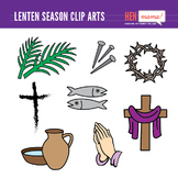 Lenten Season Clip Art Set