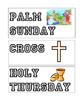 Lenten Season/ Easter Word Wall