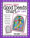 Lenten Stained Glass Good Deeds Chart