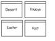 Lenten Vocabulary Foldable