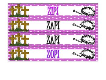 Lenten ZAP! Alphabetical Order