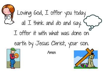 Lenten prayer and Jellybean prayer posters
