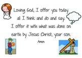 Lenten prayer and Jellybean prayer posters