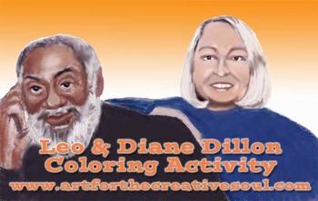 Leo & Diane Dillon Coloring Sheet
