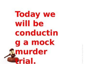 Georgia Studies Leo Frank Case Mock Murder Trial Activity Power Point