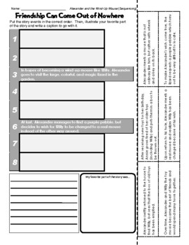 Leo Lionni (Alexander and the Wind-Up Mouse - Sequencing/Retelling)