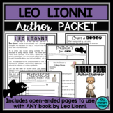 Leo Lionni:  An Author Study Packet