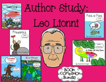 Leo Lionni Author Study (Story Companion bundle with Author activities)