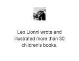 Leo Lionni Biography Scavenger Hunt