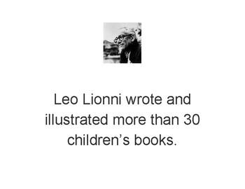 Leo Lionni Biography Scavenger Hunt
