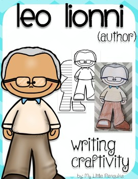 """Leo Lionni """"Craftivity"""" Writing page (Author of A Color of His Own)"""