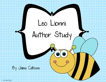 Leo Lionni Differentiated Author Study