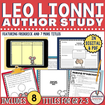 Leo Lionni Author Study Bundle