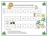 Leo Lion's Long Vowel Adventure Game Literacy Station RF.1.3, RF.2.3