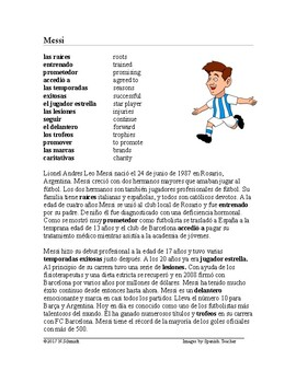 Messi Biografía: Spanish Biography on Famous Soccer Player from Argentina
