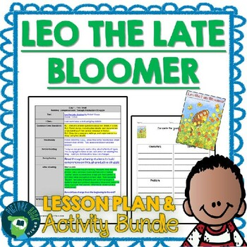 Leo The Late Bloomer 4-5 Day Plan