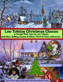Leo Tolstoy's Christmas Folk Tale Activities + Short Stories