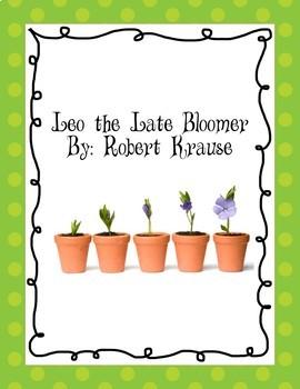 Leo the Late Bloomer Worksheet