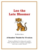 Leo the Late Bloomer - A Readers' Theater or Play