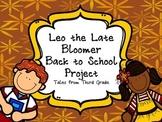 Leo the Late Bloomer Back to School Freebie
