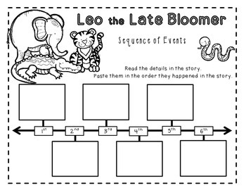 Leo the Late Bloomer Book Study