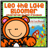 Leo the Late Bloomer Kindergarten NO PREP Supplemental Reading Printables