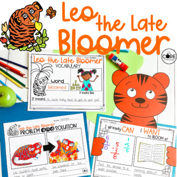 Leo the Late Bloomer Interactive Read-Aloud Lesson Plans and Activities