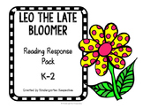 Leo the Late Bloomer Response Pack