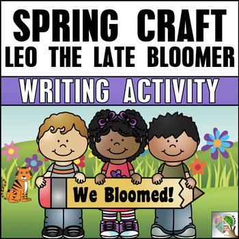 Spring Craft and Writing Activity - Spring Craftivity