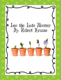 Leo the Late Bloomer lesson plan