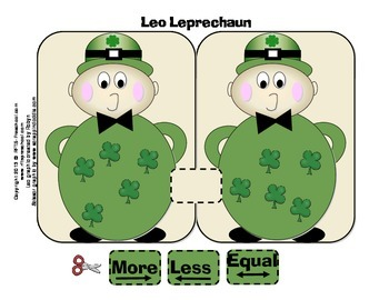 FREE Leo the Leprechaun  [More or Less] FREE