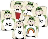 Leo the Leprechaun Alphabet Match {Common Core Aligned}