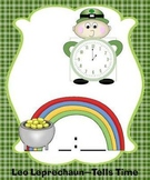 Leo the Leprechaun Telling Time (Common Core Aligned)