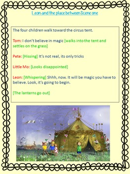 Leon and the Place Between - Complete English unit
