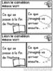 Léon le caméléon! Compréhension de lecture (French Close Reading Lesson Plans)