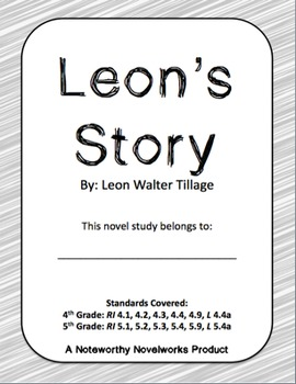 Leon's Story Novel Study / Answer Key