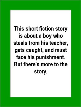 Leon the Liar Short Story for  Kids Literacy Activities