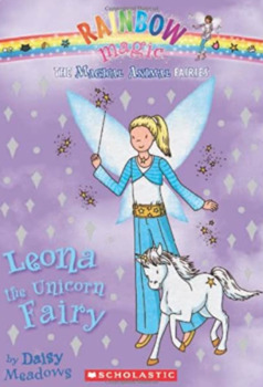 Leona The Unicorn Fairy;  Rainbow Magic