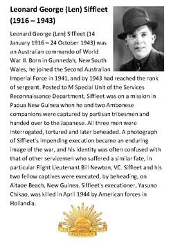 Leonard Siffleet Handout
