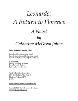 Leonardo: A Return to Florence