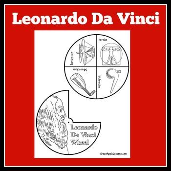 Leonardo Da Vinci Craft   Leonardo Da Vinci Activity   Renaissance