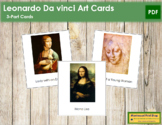 Da Vinci (Leonardo) 3-Part Art Cards