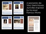 Leonardo Da Vinci-5 Amazing Sketchbook Activities  Inspire