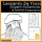 Leonardo Da Vinci Clipart Collection & Google Slide Presentation